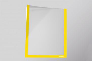 Infotaschen A5,  Farbe: gelb