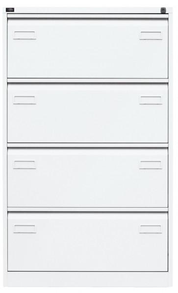 Hängeregistraturschrank, doppelbahnig mit 4 HR-Schubladen