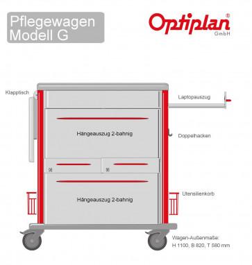 Laptop Pflegewagen OPTIPLAN G