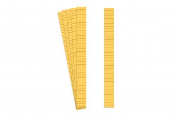 Markierungsstreifen 8mm gelb Strichabstand
