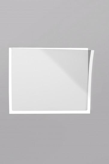 Infotaschen A5,  Farbe: weiß