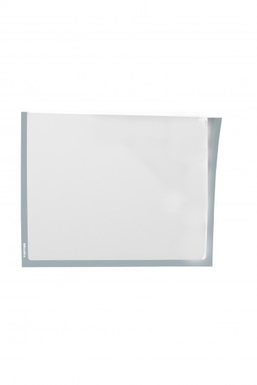 Infotaschen A5,  Farbe: grau