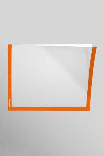 Infotaschen A5,  Farbe: pastell-orange