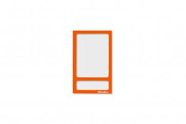 Fototasche magnetisch ohne Rückwand: pastell-orange
