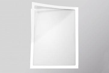 Infotaschen A4, Farbe: weiß