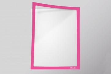 Infotaschen A4, Farbe: neonpink