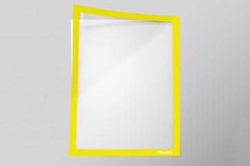 Infotaschen A4, Farbe: neongelb