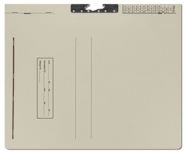 Zippel-Mappen 5005/Z grau
