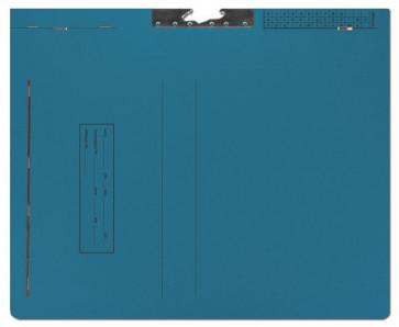 Zi-Mappen 5005/Schl/Z dunkelblau