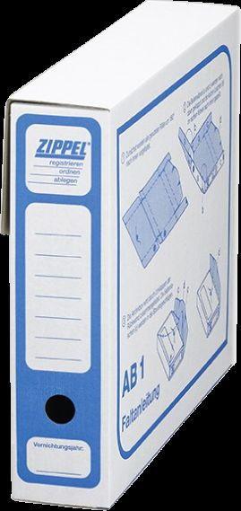 Zippel Archivbox J0 001, AB1