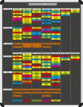Mitarbeiter-Einsatzplanset Planrecord