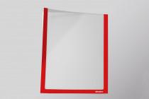 Infotaschen A5,  Farbe: rot