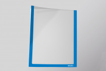 Infotaschen A5, Farbe:  blau