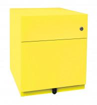 Rollcontainer mit  1 Universalschublade, 1 HR-Schublade