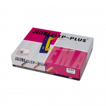 JalemaClip-Plus, farblich sortiert Schachtel zu je 100 Stück