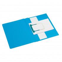 Secolor Clipexmappe plus A4 blau