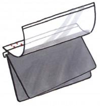 Planettentasche Dreifachtasche ohne Signalis-Streifen, blau