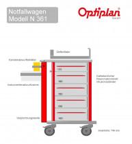 Notfallwagen  OPTIPLAN N 361  L
