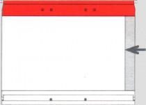 Planettentasche ohne Signalis-Streifen, rot