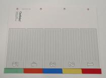 OP 505 Kunststoff-Register 5-tlg