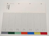 OP 507  Kunststoff-Register 7-tlg