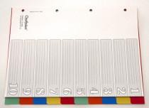 OP 510  Kunststoff-Register 10-tlg