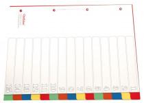 OP 515  Kunststoff-Register 15-tlg