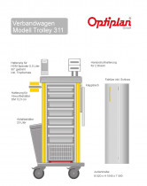 OPTIPLAN Trolley 311