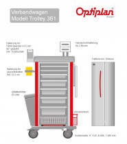 OPTIPLAN Trolley 361