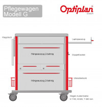 Laptop Pflegewagen OPTIPLAN G