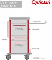 Laptop Visitenwagen OPTIPLAN  K 411