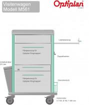Laptop Visitenwagen OPTIPLAN  M 561