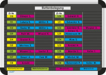 Bettenbelegungsplan-Set Planrecord