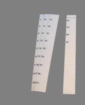 Zahlen 1 bis 31 für Stecktafel
