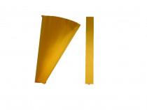 Kunststoffbänder Planrecord gelb transparent