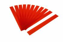 Kunststoffbänder Planrecord rot transparent
