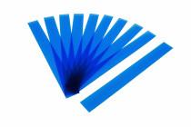 Kunststoffbänder Planrecord blau transparent