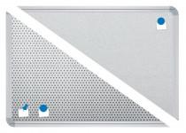 Stellwandtafel Edelstahl Duodex 2.0