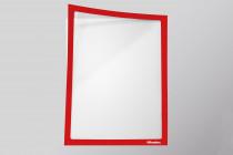 Infotaschen A4, Farbe:  rot