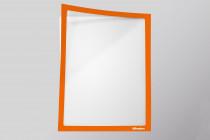 Infotaschen A4, Farbe: pastell-orange