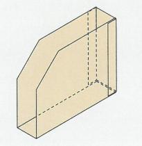 Stehkassette 5557/8cm/Z