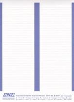 Einschiebestreifen B2047 dunkelblau