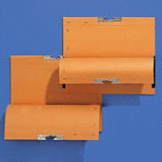 T-Gleit-Hefter mit Leinenfroschtasche für loses Schriftgut